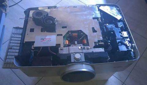 تعمیر ویدئو پروژکتور SANYO PLC-XM150