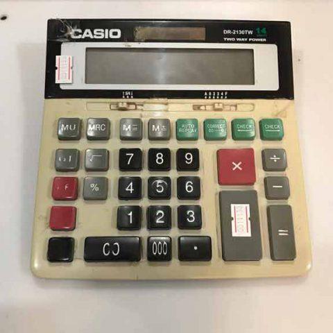 تعمیر ماشین حساب casio DR-2130TW