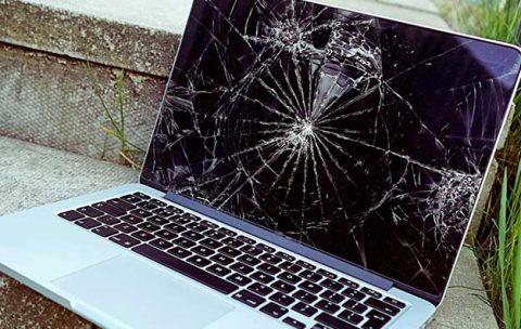 تعمیر لپ تاپ ضربه دیده
